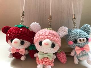 再び編み編み
