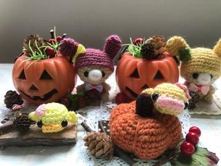 かぼちゃ&うさぎ